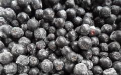 Mountain ash black-fruited frozen. Aroniya