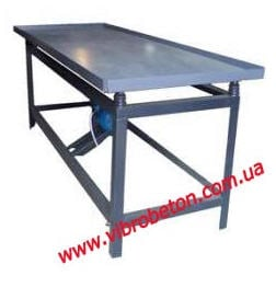 Vibrating table 800 * 2100 mm