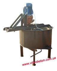 Mixer forced type for semi-dry mixtures 80 litres.