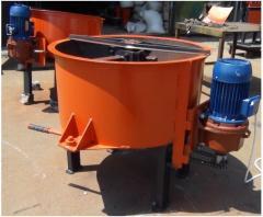 Concrete mixer (concrete mixer) forced type 150
