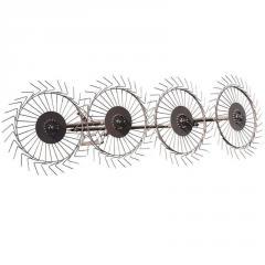 Грабли для мотоблока ворошилки 4 колесные...