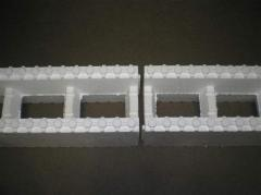 Thermoblocks from expanded polystyrene