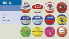Мяч баскетбольный BB0102 (E02904) (50шт) №7,...