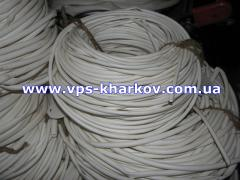 Tubes insulating d=10mm PVC (in a bay for kg)