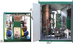 Installation for processing of transformer UVM-10M