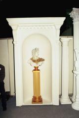 Sculptures from a steklofibrobeton (SFB)