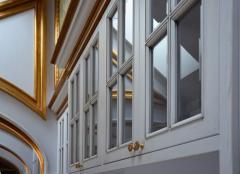 Фасады из ясеня для домашних библиотек и кабинетов