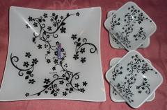 Элитные наборы тарелок глубокие ( 7 предметов), Тарелки Arcofam - элитная посуда крупным и мелким оптом Украина.
