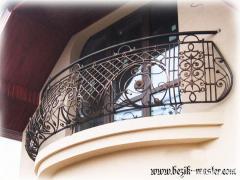 Кованые ограждения балконов под заказ, кованые