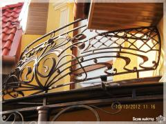 Ограждения для балконов кованые под заказ,