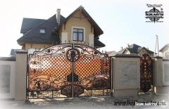 Wrought-iron fence, wrought-iron fences to order,