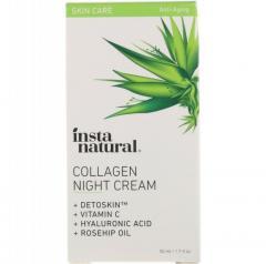 InstaNatural, Collagen Night Cream, 1.7 fl oz (50