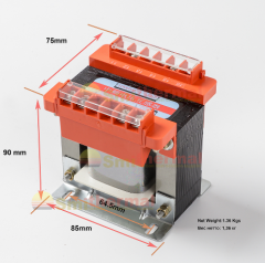 Трансформатор зворотного зв'язку для тиристорного перетворювача середніх частот 1000/100 / 20V 0,4-5 кГц