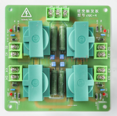 4-Channel Pulse Transformer for Medium Frequency Thyristor Converter