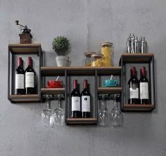 Полка винная GoodsMetall в стиле Лофт 900х600х200