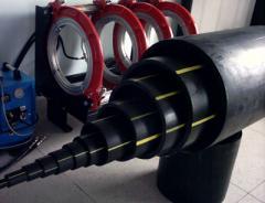 Труба полиэтиленовая для газоснабжения ПЕ 80 SDR