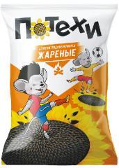 Roasted sunflower seeds, 110 g, TM Potekhi