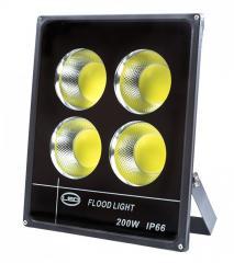 Прожектор промышленный COB 200Вт (FL-200-6000-4L)