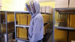 Куртка пчеловода лен габардин