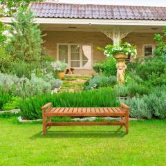 Скамейка деревянная садовая серии Классик