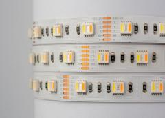 Премиум LED лента SMD5050 RGB+WW+CW (RGB+CCT) LED
