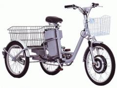 Электробайк-Электровелосипед трёхколёсный  Volta