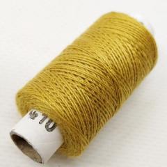 Нитки джинсовые, высокой прочности №10, золотые светлые col. 038 (РАВ-532)