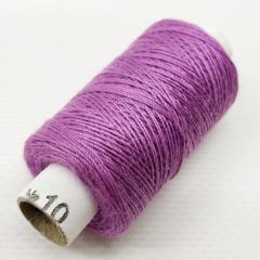 Нитки джинсовые, высокой прочности №10, сиреневые col. 022 (РАВ-535)