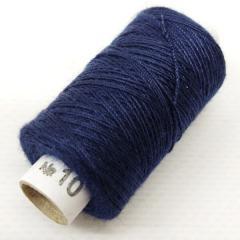 Нитки джинсовые, высокой прочности №10, темно-синие col. 071 (РАВ-536)