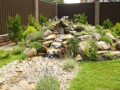 Alpine hills, Landscaping, services in gardening