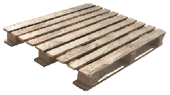 Pallets are industrial