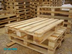 Pallets are wooden new