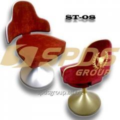 Стул ST-08, индивидуальное изготовление, стулья с вышитым фирменным логотипом