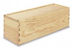 Gift packing, box wooden