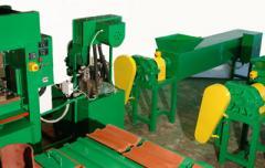 Линия по производству полимерпесчаной плитки и