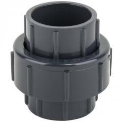 Муфта ПВХ ERA разборная клей-клей, диаметр 40 мм.
