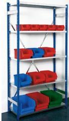 Racks half-internal by the customer's sizes,