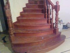 Лестницы винтовые деревянные, лестницы