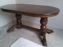 Available table from the massif of the Oak