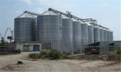 Зернохранилища под ключ, проектирование