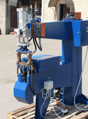 The machine of contact welding UTS-102 for