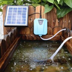 Аэратор для пруда на солнечной батарее