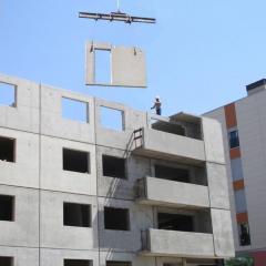 Precast concrete (concrete goods)
