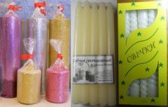 Candles are economic, decorative, interior in