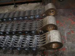 Цепи тяговые для металлургических предприятий,