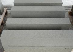 Borders sidewalk (concrete goods)