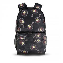 Городской рюкзак с принтом Череп в сковородке