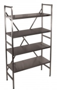 Racks from stainless steel