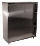 Cabinets from stainless steel