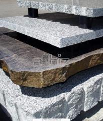 Блок гранитный для ритуальных памятников